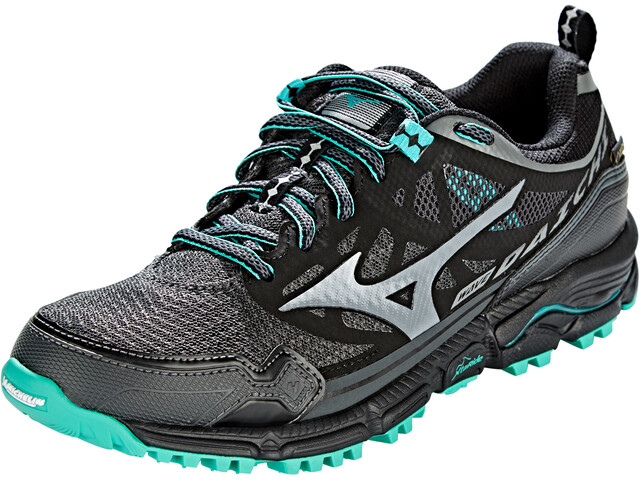 Mizuno Wave Daichi 4 GTX Schoenen Dames, dark shadow/quiet shade/billiard